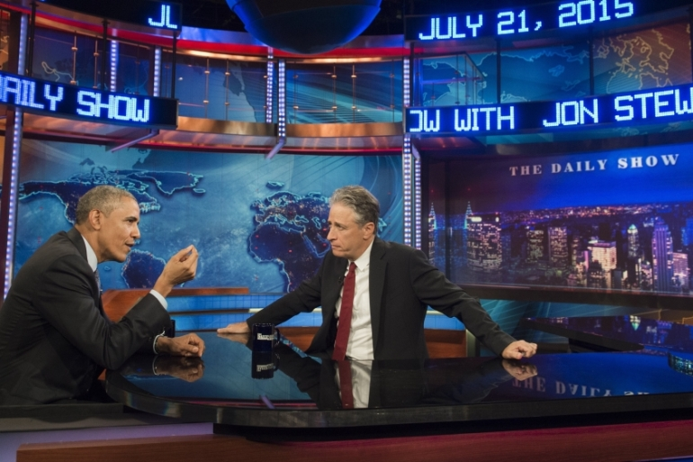 The truth is that Jon Stewart has basically stood alone when it comes to Palestine, writes Zahr [Getty]