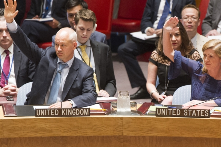 US Ambassador to the UN Samantha Power said it was vital that those responsible for chemical attacks be held accountable [UN via AP]