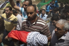 Anger and grief after Israeli settler attack kills baby