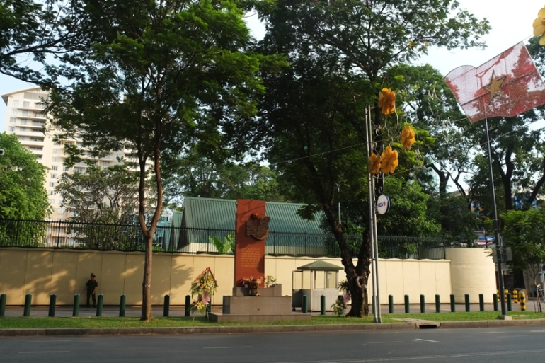 The US Consulate in Ho Chi Minh City where Sestak worked as the head of the non-immigrant visa division [Calvin Godfrey/Al Jazeera]