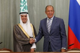Saudi FM says 'Assad not part of the solution' in Syria