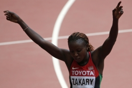Two Kenyans suspended for doping at World Championships