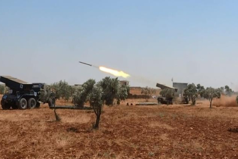 Opposition fighters fired rockets at ISIL strongholds in the northern Aleppo province [Al Jazeera]