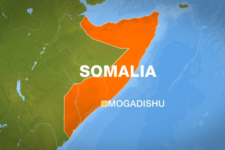 The beachside shootout is the latest in a series of al-Shabab attacks in Somalia aimed at toppling the Western-backed government