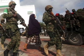 On the frontline of Somalia's fight against al-Shabab
