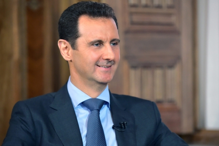 Assad has expressed 'strong confidence' that Moscow will continue supporting his regime [EPA]