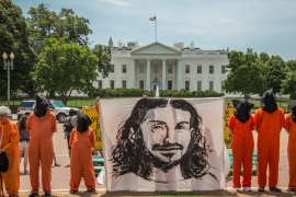 Ba Odah has been detained in Guantanamo without charge since 2002 [Justin Norman/Witness Against Torture]