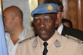 Babacar Gaye resigned a day after Amnesty International accused UN peacekeepers in CAR's capital of misconduct [Reuters]
