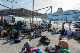 Chaos in Kos: Greece on the frontline of migrant crisis