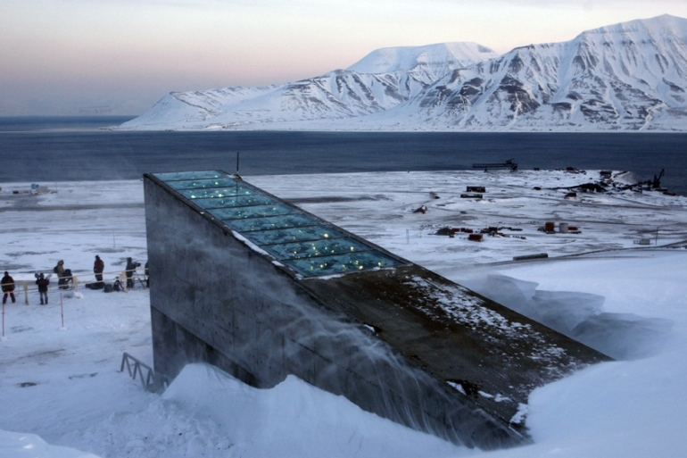 The Svalbard Global Seed Vault was built to protect millions of food crops from climate change, wars, and natural disasters [AP]