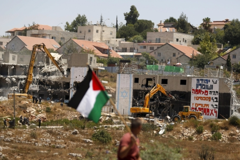 Many rights and development groups have expressed alarm at the surge in demolitions, and called for Israel to be held accountable [Reuters]