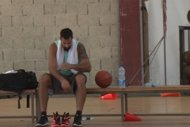 Meet Palestine's first professional basketball player