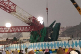 Saudi crane collapse kills 107 in Mecca Grand Mosque