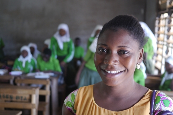 Going Places: Girls' Education in Ghana