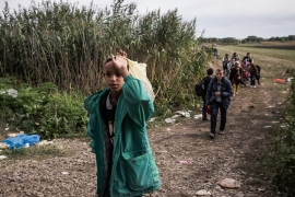 All the border crossings into Croatia are closed, except one. [Ioana Moldovan/Al Jazeera]