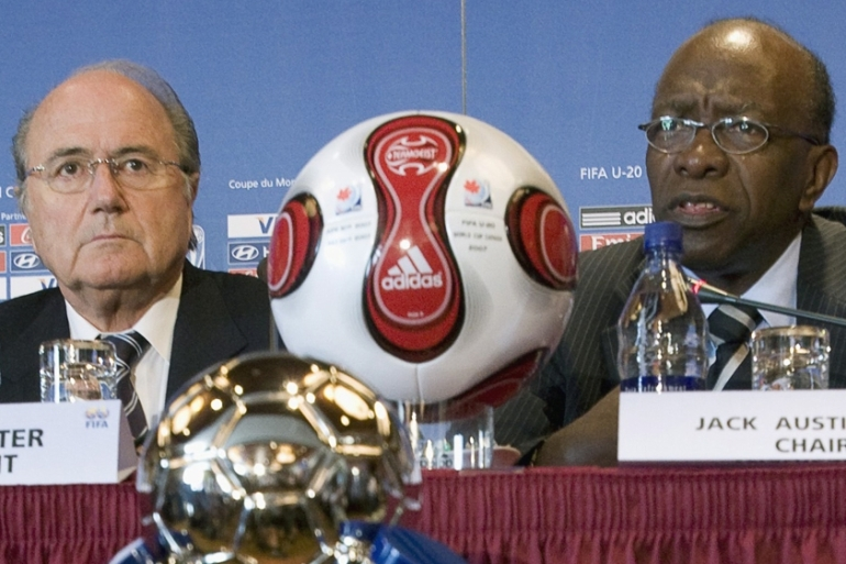 Blatter had disgraced FIFA by his actions, according to the now-banned Warner [AP]