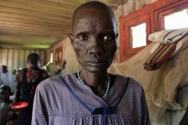 This women from Bentiu, capital of Unity state, said she wishes to die after all 12 of her children were killed [Hannah McNeish/Al Jazeera]