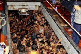 A Thai crackdown led to the unravelling of people smuggling networks that saw thousands stranded at sea and dumped in jungles [EPA]