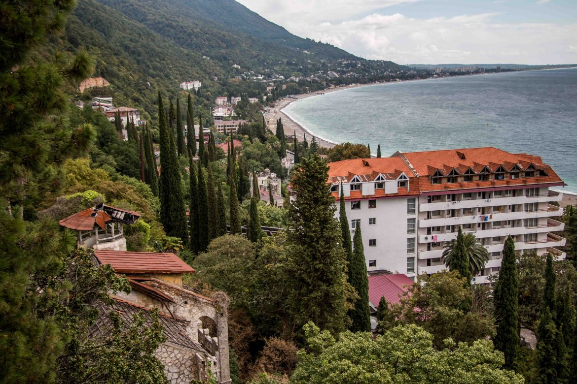 Gagra's popularity among Russian holiday-makers is once again growing with Russian investment in property and infrastructure and considerable efforts to restore some of the decaying edifices. [Al Jazeera]