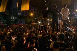 In June 2017, Joshua Wong talks to Al Jazeera about Hong Kong's pro-democracy movement