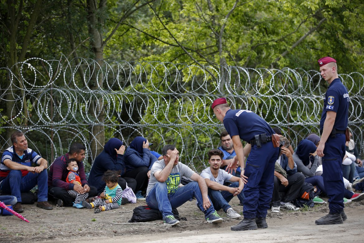 Refugees entering Hungary now face deportation and jail terms as EU ministers fail to agree on a common crisis strategy [Dado Ruvic/Reuters]
