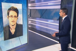 Edward Snowden speaks to Mehdi Hasan