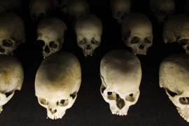Museum officials said it is possible to learn from Rwanda and other mass killings to identify early warning signs [EPA]