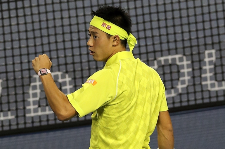 Nshikori is bidding for his third Japan Open title [AP]