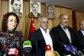 The Quartet included a businesswoman, a trade unionist, a human rights activist and a lawyer [File: Anis Mili/Reuters]