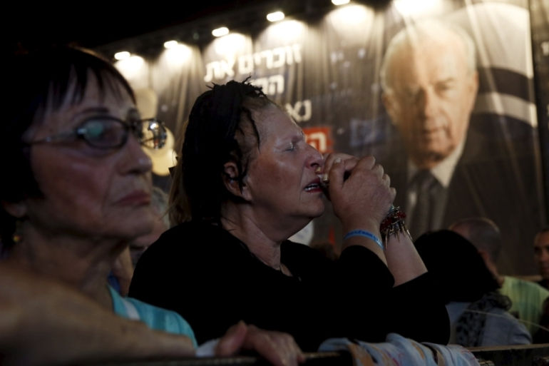 Twenty years ago, an ultranationalist Israeli assassinated Yitzhak Rabin after he signed a peace agreement with the Palestinians [Reuters]