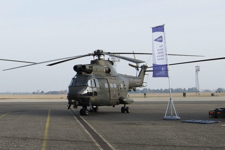 The incident involved a Puma Mk 2 helicopter [File pic - EPA]