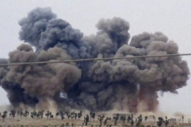 Russia accused of striking civilian targets in Syria