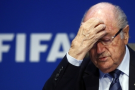Blatter's lawyer said 'the accusations are unfounded' and denied wrongdoing [File: Arnd Wiegmann/Reuters]