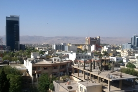 A view of Sulaimania city, northern Iraq [Tanya Goudsouzian/Al Jazeera]