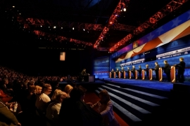US Republican presidential hopefuls spar over tax plans