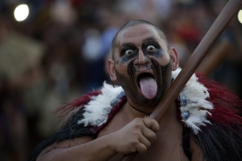 The World Indigenous Games take place in the Brazilian city of Palmas [EPA]