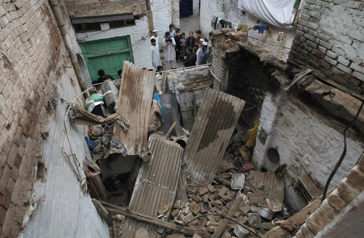 Strong tremors were felt in Kabul, New Delhi and Islamabad, where the quake caused considerable damage. [Mohammad Sajjad/AP]