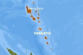 "Vanuatu is in the region of the Pacific called the ""Ring of Fire"" known for dramatic earthquakes and volcanoes"