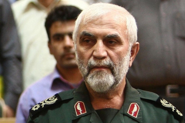 Iranian commander Brigadier General Hossein Hamedani was killed just days before Mokhtarband and Hassounizadeh [AFP/Getty]