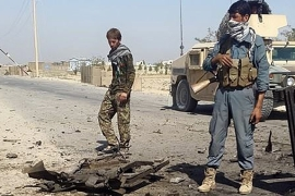 Afghan government forces have been fighting the Taliban in Kunduz since the city was raided on Monday [Reuters]