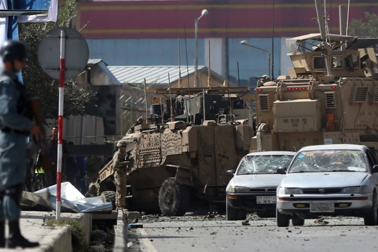 The Taliban have stepped up attacks around Afghanistan since they launched their annual summer offensive in late April [AP]