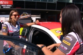 Female racing drivers taking on the field