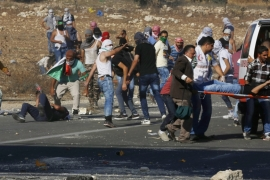 Palestinian teenager killed as West Bank clashes rage
