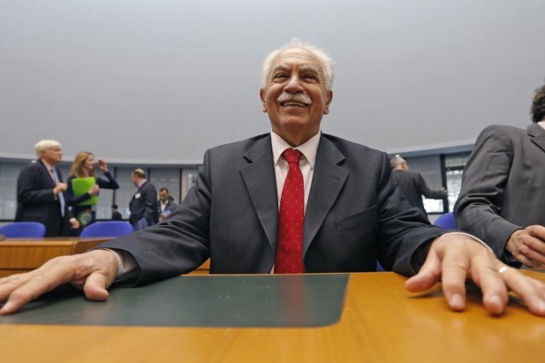 Perincek publicly called the genocide an 'international lie' while in Switzerland in 2005 [Reuters]
