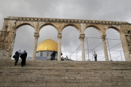 Protests across occupied Palestinian territories have been triggered by increased Israeli incursions Al-Aqsa Mosque compound [Ammar Awad/Reuters]