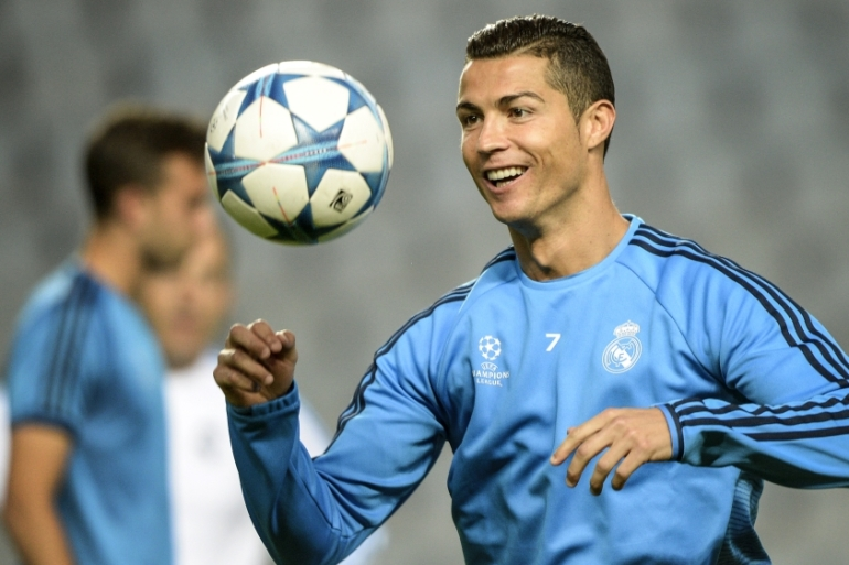 Ronaldo became Real Madrid's all-time leading scorer last month [AP]