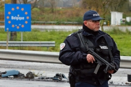 French police have increased their presence across the country and on the border with Belgium, but analysts warn it may not be enough to prevent more attacks [EPA]