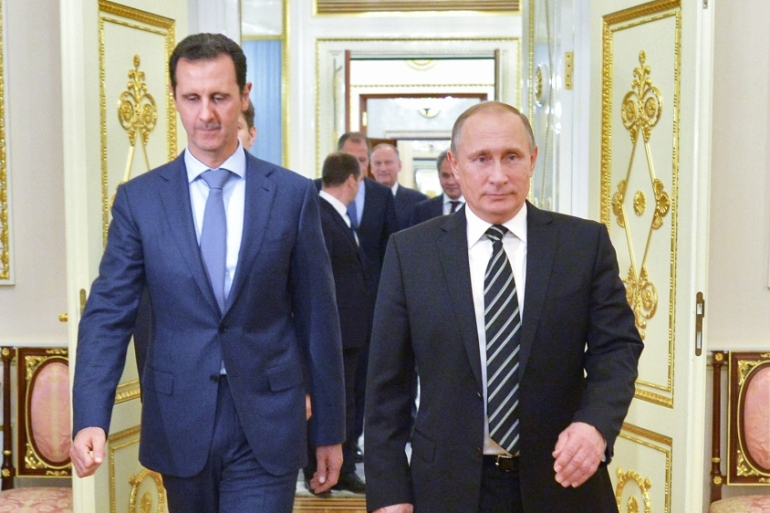 For Moscow, keeping Assad in power is more important than defeating ISIL, writes Coffey [AP]