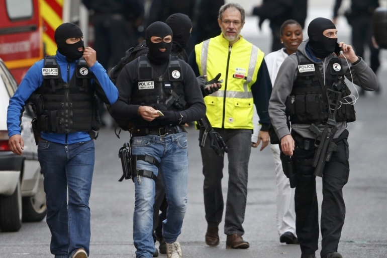 Under the state of emergency, French police have conducted dozens of raids in less than one week since the attacks in Paris [Reuters]