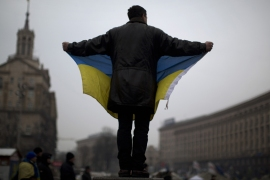Despite the disillusionment, Ukraine civil society activism is on the rise. [Getty Images]